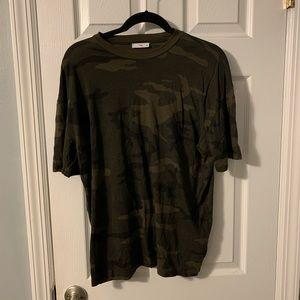 Aritzia Camouflage T shirt